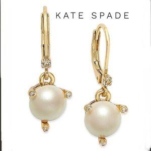 Kate Spade Rise and Shine Pearl Drop Earrings